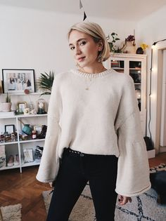 Min nya stickade tröja ★ In love! Lob Hairstyle, Hairstyles Haircuts, Cool Hairstyles, Medium Hair Styles, Short Hair Styles, Short Blonde, Love Hair, Hair Pictures, Ootd