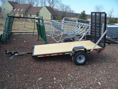 4' x 8' Trailers For Sale - In Stock - $1200!!