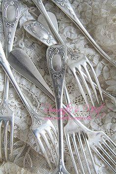 Silver forks