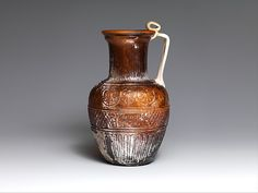 Glass jug | Roman | Early Imperial, Julio-Claudian | The Met