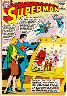 Superman 162 1st Series 1939 July 1963     DC Comics