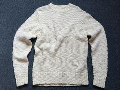 Men's Sweater: 50% Wool,50% Cotton.