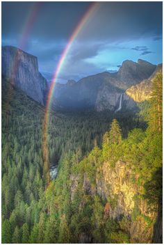 Double Rainbow by Robert (CapturedLandscapes)