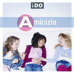 A come Amicizia, B come Batticuore, C come complicità... iDO presenta l'alfabeto dei bambini!