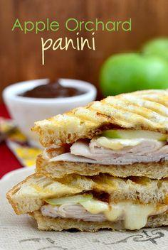 Apple Orchard Panini