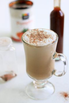 We asked you to submit your favorite, unhealthy holiday recipes so Elle, the MyFitnessPal Registered Dietitian, could remix them. Check out her healthier, Spicy, Not Sinful Pumpkin Spice Latte!
