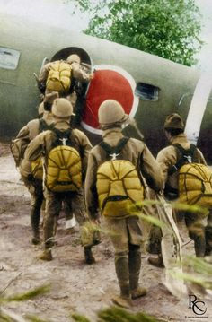 Japanese airborne forces completed only 4 parachute assaults during the war. The final Army paratroopers' combat jump taking place on Leyte, Philippines, on December 6, 1944.