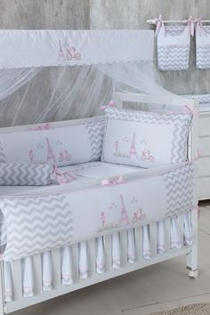 BICICLETA ROSA 2 Girl Crib Bedding Sets, Girl Cribs, Nursery Crib, Baby Bedroom, Baby Room Decor, Baby Sewing Tutorials, Baby Shower Clipart, Baby Kit, Crib Bedding