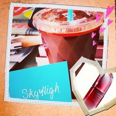 powerful RED juce!! #SHISEIDO #ultimune #collaboration #skyhighjuicebar #人参 #ビーツ #パ | OnInStagram