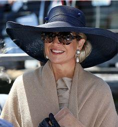 Queen Máxima, Nov 8, 2016 in Fabienne Delvigne   Royal Hats
