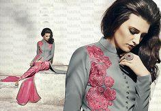 Индийские свадебные шаровары дизайнер этнические болливуд вечеринки костюм платье бесплатная доставка