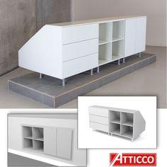 Attic Bedroom Storage, Attic Bedroom Designs, Loft Storage, Room Design Bedroom, Attic Closet, Attic Bedrooms, Closet Bedroom, Small Attic Room, Attic Spaces