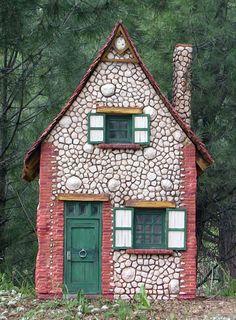 Miniaturas Kriana: La casa de la bruja nº 5, blanca y estilizada