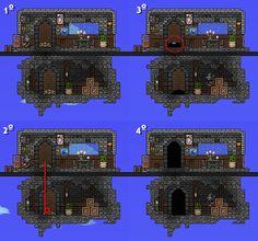 Terraria stone bridge terraria and starbound pinterest - Sims 3 spielideen ...