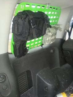 Molle panel nissan xterra lifted