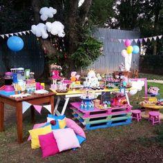 Bom dia com picnic super fofo da Peppa Pig! Por @lafiestamini ☀️ #kikidsparty