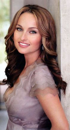 looked up Giada's beauty routine since she always looks stunning on her show! olive oil and baking soda...go figure...love this makeup tutorial though from her!:)