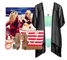 """""""Swimming/Boating with Lex and Delly"""" by reaganbalentine ❤ liked on Polyvore"""