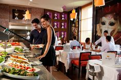 Buffet Restaurant at Hotel Riu Palace Peninsula, Cancun, Mexico - on sale - take OFF! Cancun Resorts, Best Resorts, All Inclusive Resorts, Hotels And Resorts, Caribbean Homes, Caribbean Vacations, Us Honeymoon Destinations, Mexico Vacation Packages, Riviera Nayarit