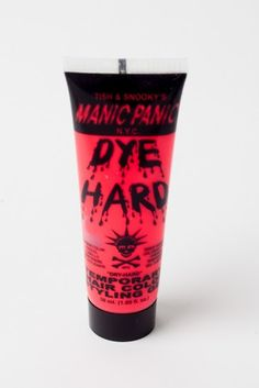 Electric Flamingo Dyehard Styling Gel http://shop.nylon.com/collections/whats-new/products/electric-flamingo-dyehard-styling-gel #NYLONshop