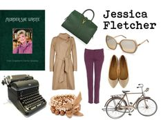 """Jessica Fletcher"" by watershome ❤ liked on Polyvore"