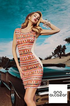 #lovedbyana campaing SS14 ANA ALCAZAR  #fashion #dress