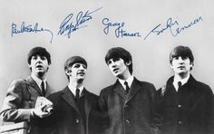 Beatles - World's most valuable autographs - getty images
