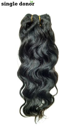 Wavy to Curly Virgin Indian Hair