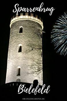 Sparrenburg Castle on New Years Eve in Bielefeld Ostwestfalen NRW Deutschland. Lifestyleblog from the city of Bielefeld, at the Teutoburger Forest in #bielefeld #deutschland #germany #ostwestfalen #teuto #fotos #sparrenburg #fullmoon  #castle #sightseeing #silvester