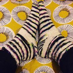 New socks! Thanks to @countessablaze for the stunning yarn #drawerfullofsocks #knittersofinstagram