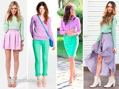 сиреневый цвет в одежде Purple Pants Outfit, Pastel Outfit, Color Combinations For Clothes, Color Blocking Outfits, Colourful Outfits, Cool Outfits, Color Lavanda, Collor, Trendy Fashion