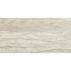 MSI Sigaro Ivory 12 in. x 24 in. Glazed Ceramic Floor and Wall Tile sq. / - The Home Depot Glazed Ceramic Tile, Ceramic Wall Tiles, Ceramic Flooring, Porcelain Tile, Bathroom Floor Tiles, Tile Floor, Hall Bathroom, Bathroom Ideas, Kitchen Shower