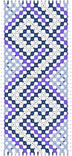 Normal Pattern added by - Photo Bracelet Knots, Macrame Bracelets, Bracelet Making, Friendship Bracelet Instructions, Diy Friendship Bracelets Patterns, String Bracelet Patterns, String Crafts, Peyote Beading, Bracelet Tutorial