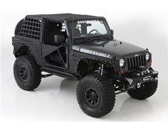 2007-2016 Jeep Wrangler 2 Door Smittybilt XRC Armor Front & Rear Kit