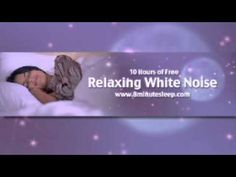 ▶ Fall Asleep Fast! 10 Hours of White Noise. Increase focus, soothe a baby, meditate - YouTube