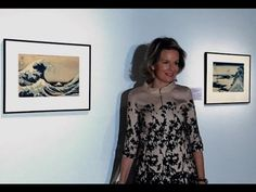 "Queen Mathilde visits Ukiyo-e exhibition at Cinquantenaire Museum Queen Mathilde visits Ukiyo-e exhibition at Cinquantenaire Museum On November 17 2016 Queen Mathilde of Belgium visited the exhibition ""Ukiyo-e. The Most Beautiful Japanese Prints"" at the Cinquantenaire Museum in Brussels. The exhibition is held on the occasion of the celebrate of the 150th anniversary of diplomatic relations between Belgium and Japan. ----------------------- subscribe for more videos…"