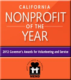 @MENDpoverty.org is a wonderful organization. They were recognized as the California Nonprofit Of The Year! Thank you for working with us on #SharingSmiles!