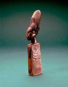 object: Omolangidi (doll) - Nigeria - Yoruba peoples  Fowler Museum etc