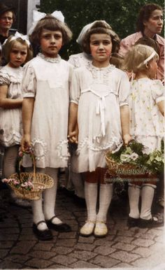 before first communion, cca. 1930
