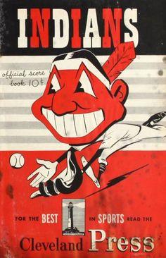 1950 Cleveland Indians / New York Yankees Program Scorecard Cleveland Baseball, Cleveland Indians Baseball, Cleveland Ohio, Cleveland Browns, Akron Ohio, Columbus Ohio, Baseball Posters, Baseball Art, Baseball Games