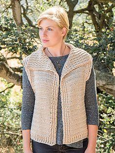 Ravelry: Tolosa Vest pattern by Lena Skvagerson