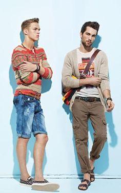 Dimitriy Tanner and Tobias Sorensen for Simons SS 12