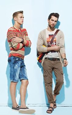 Dimitriy Tanner and Tobias Sorensen for Simons SS 12