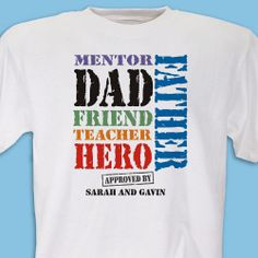 making father's day t shirt