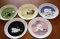 Moomin dishes, made by Arabia, Finland Tove Jansson, Moomin, Marimekko, Little My, Design Products, Kids Rooms, Cup And Saucer, Finland, Future House