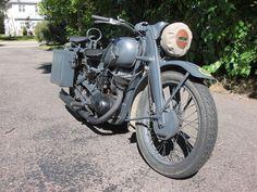 Photo 2 of a restored DKW NZ 350