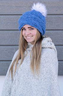 Ravelry: Frosty Waves Lue pattern by Hilde Sørum Wave Design, Stockinette, Needles Sizes, Snug, Ravelry, Winter Hats, Waves, Wool, Knitting