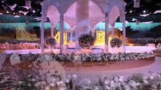 Video Mapping Wedding in International Exhibition Centre Doha, Qatar by ...