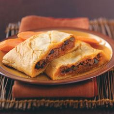Sloppy Joe Calzones Recipe from Taste of Home