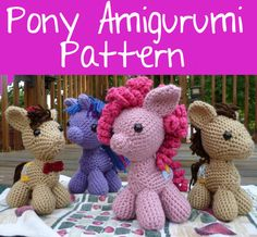 MLP amigurumi crochet pattern.